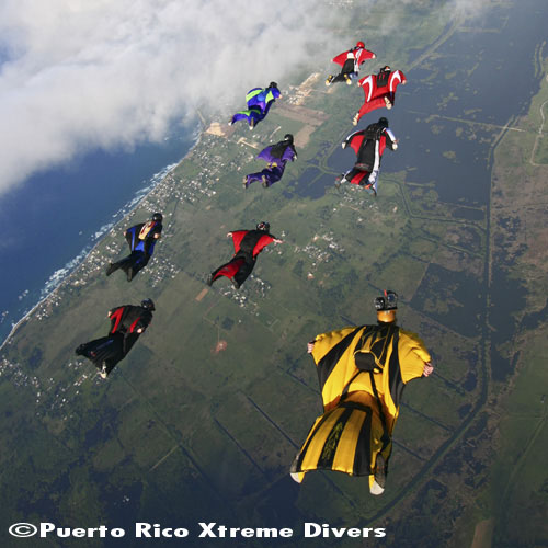 Puerto Rico Xtreme Divers Freefall Festival