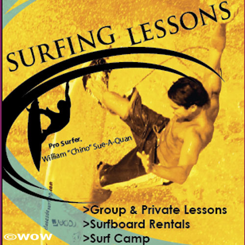 Jet ski tours & wow! Surfing School