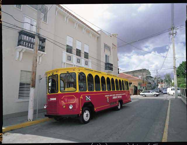 Trolley in Adjuntas