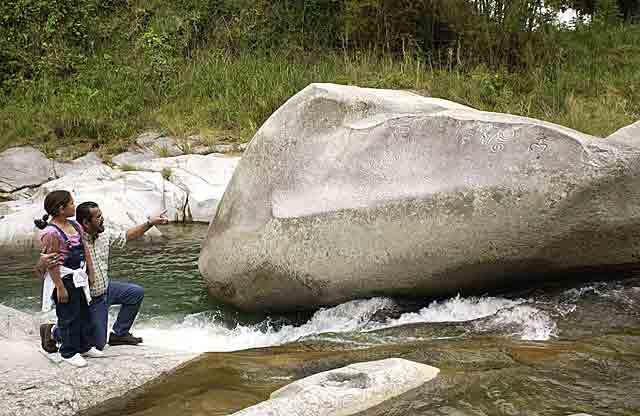 La Piedra Escrita Petroglyphs