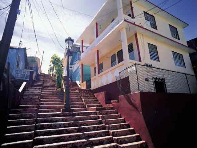Area Residencial de las Escaleras