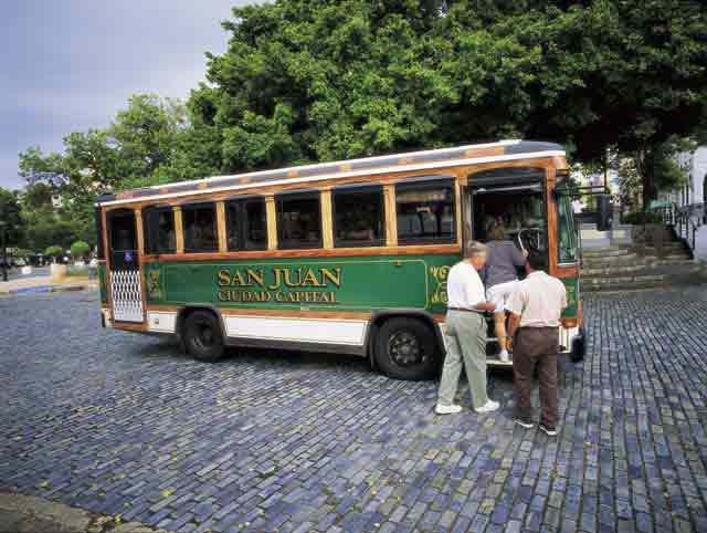 Old San Juan Trolley