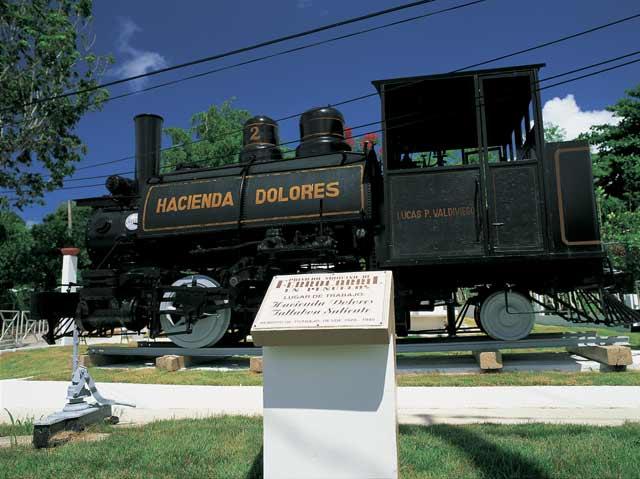 Locomotora La Negra Cocola de la Hacienda Dolores