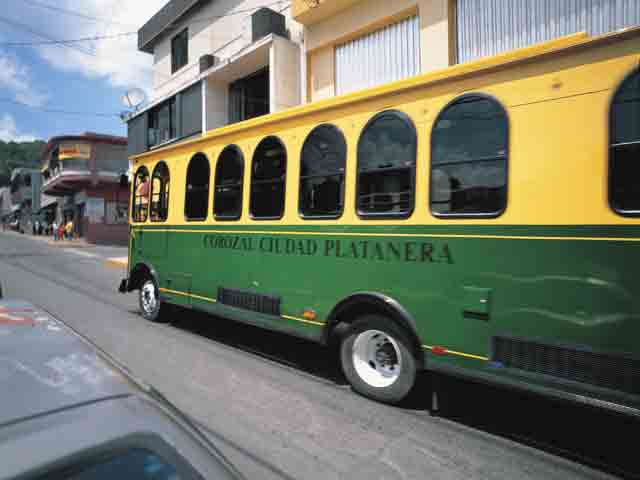 Trolley in Corozal